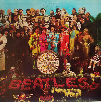 Sgt Peppers Lonely Hearts Club Band by the Beatles LP