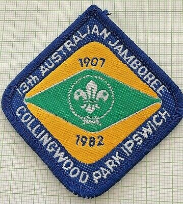 13th Australian Scout Jamboree Official Badge, Collingwood Park, Queensland 1982