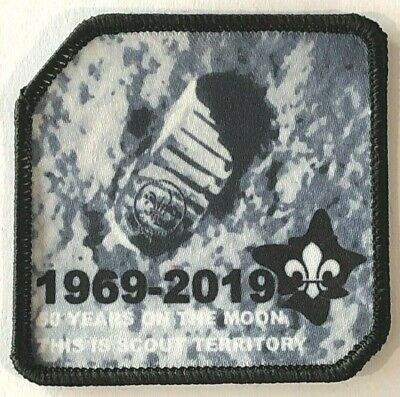 50 years First Scouts on the Moon Badge, This is Scout Territory, NASA Apollo 11