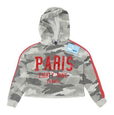 New Look Girls Camouflage Multi-Coloured Hoodie Age 9