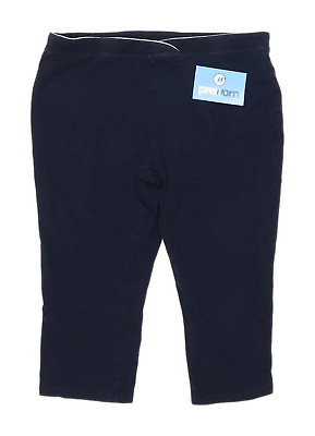 Marks & Spencer Girls Blue Short Sweatpants Age 14