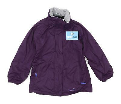 Peter Storm Girls Purple Windbreaker Jacket Age 7-8