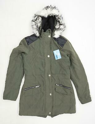New Look Girls Green Lightweight Coat Age 14-15
