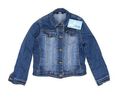 George Girls Blue Jacket Age 7-8