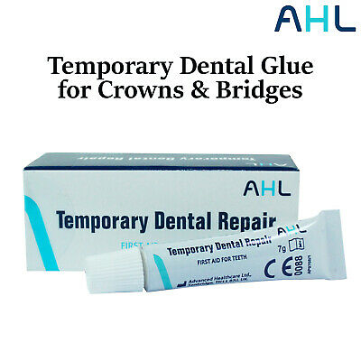Emergency First Aid Temporary Dental Glue Cement for Crowns and Bridges