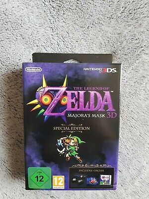 The Legend of Zelda : Majora's Mask 3D Edition Speciale - Nintendo 3DS = NEUF