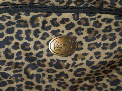 Ricardo of Beverly Hills Leopard Print Toiletry Travel Case, NEW