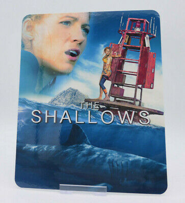 THE SHALLOWS - Glossy Fridge / Bluray Steelbook Magnet Cover (NOT LENTICULAR)
