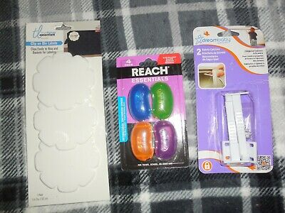 Child Safety Latch 2 Pk , 4 Reach Toothbrush Covers  Clip On Bin Labels Lot Sale