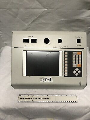 Gasonics Aura 3010 L3510 Plasma Asher Display Assembly Monitor 95-0296 AWM-B-4-6