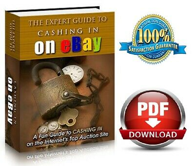 The Expert Guide to Cashing in on eBay New PDF ebook With MRR Free Shipping
