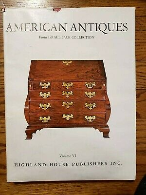 American Antiques Furniture from Israel Sack Collection Volume VI