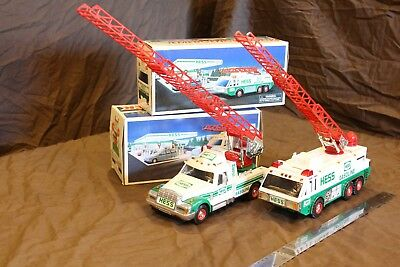 Hess Trucks Approx 1/25 scale 1996 &1994 Displayed only not played with.