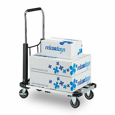 Platform Truck Hand Trolley Dolly Cart Extendable Folding 100kg Capacity