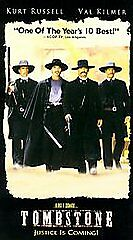 Tombstone (NEW SEALED VHS TAPE) Kurt Russell, Val Kilmer