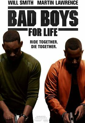 BAD BOYS FOR LIFE (2020): Will Smith, Martin Lawrence, Comedy - NEW Au Rg4 DVD