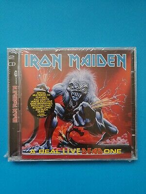 Iron Maiden: A Real Live Dead One: 2 x CD Album: New and Sealed - Heavy Metal