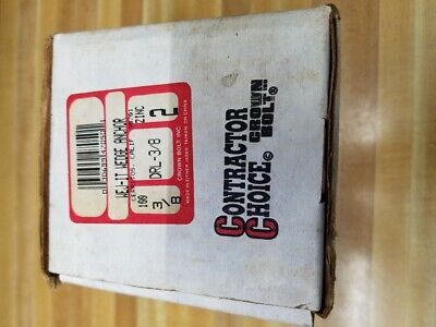 """Contractor Choice 3/8 inch Wedge Anchors 2"""" inch long, approx. 80 pieces"""