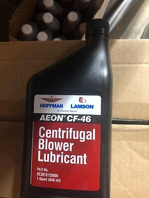 Aeon CF-46 Centrifugal Blower Lubricant - Case Of 12