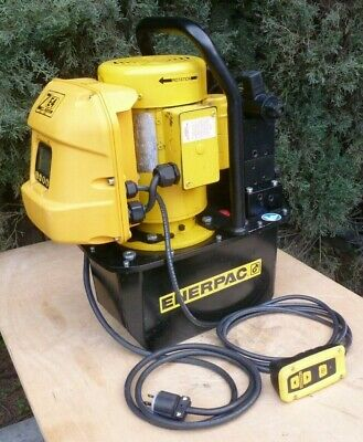 ENERPAC ZE4308SB  Electric Hydraulic Pump, Remote Pendant, LCD,
