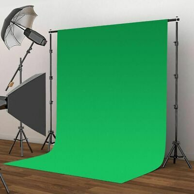 10*10FT Chromakey Green Screen Muslin Backdrop for Studio Lighting Kit