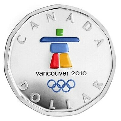 Lucky Loonie  - 2010 Canada $1 Sterling Silver Coin