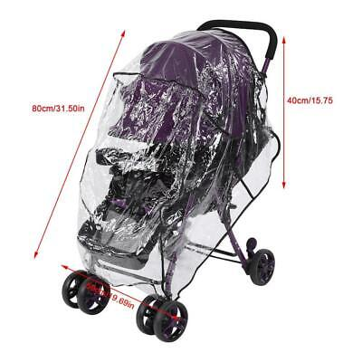 Universal Baby Buggy Rain Cover Child Stroller Windshield Umbrella Windproof