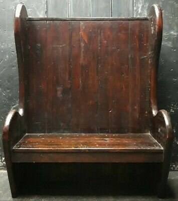 Antique pine settle, pew , delivery available