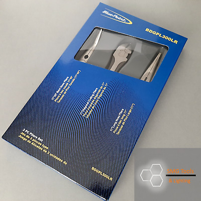 Blue Point 3pc Long Reach Pliers & Cutters Set Inc VAT New As sold by Snap On.