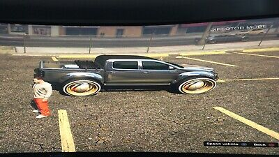GTA V ONLINE PS4 10 Modded Cars Of Your Choice Book