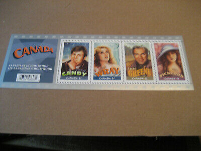 Canada    51C   2006  Canadians In Hollywood (1St Series)         Sheetlet