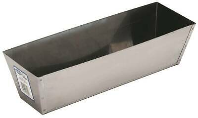 Marshalltown 812 Drywall Mud Pan 12-1/2 in L Bottom 3 in W Bottom Stainless