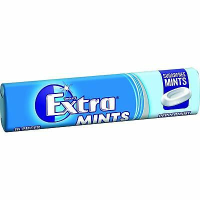 Wrigleys Extra Peppermint Sugarfree Mints (Pack of 24) Full Pack
