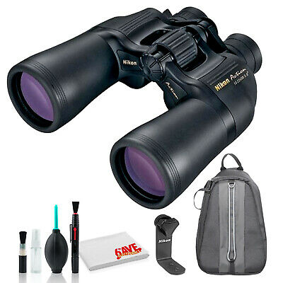 Nikon 10-22x50 Aculon A211 Binocular (Black) Deluxe Essential Kit