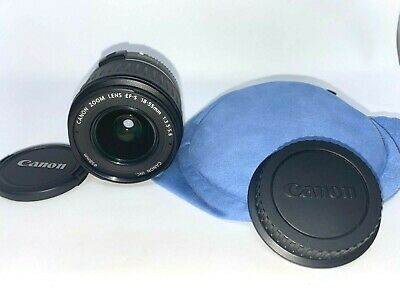 Canon Zoom Lens EF-S 18-55mm 1:3.5-5.6 IS - MINT CONDITION - with Pouch