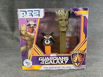 Expiration 10//2023 PEZ Marvel Guardians of the Galaxy Twin Pack Gift Set NEW