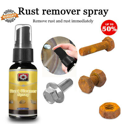 Rust Cleaner Spray Derusting Spray Car Maintenance Cleaning 30ML Rust Remover