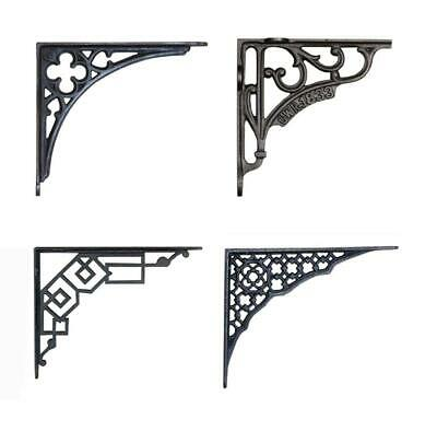 Cast Iron Wall Brackets Shelf Supports Cistern Vintage Victorian Antique  Single