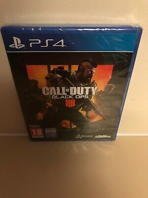Call of Duty BLACK OPS IIII 4 - PLAYSTATION 4 PS4 COD FREE DELIVERY BRAND NEW