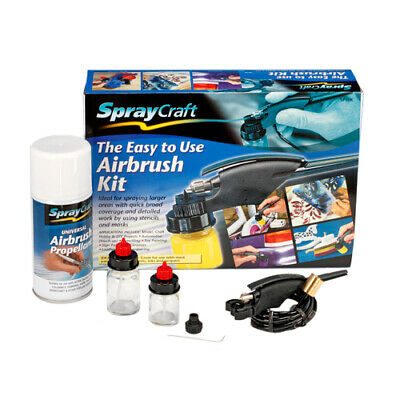Easy-to-Use Airbrush Set SP10 Krick 493211