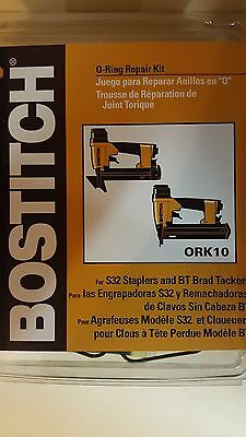 Bostitch ORK10 O-Ring Repair Kit for S32 Staplers and BT Brad Tackers