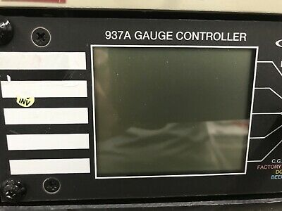 Airco Temescal FC-1800 MKS HPS Products 937A Gauge Controller ID-D-TRACK-2-007