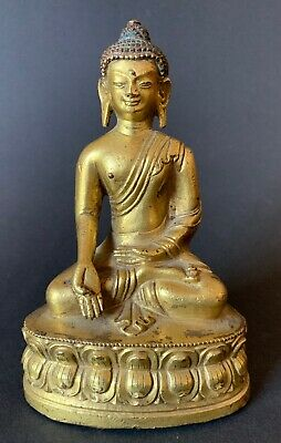 Antique BronzeBuddha China Nepal Tibet