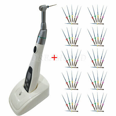 Endodontic Dental Cordless Endo Motor 16:1 Reciprocating +Rotary Niti Files 25mm