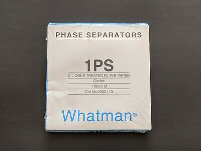 Whatman 1PS Silicone Treated Filter Paper Circles 110mm Qty 100 Free UK P&P