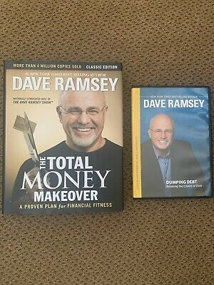 THE TOTAL MONEY MAKEOVER Hardcover Book And Dumping Debt DVD by Dave Ramsey