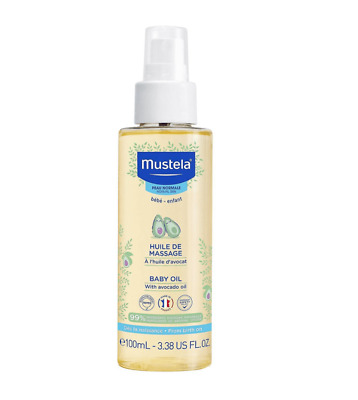 Mustela Baby Oil 100ml - MUSTELA MASSAGE OIL 100ML - AUTHENTIC - FREE DELIVERY