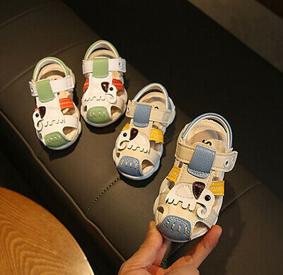 New Baby Toddler Boys Sandals Kids Infant Casual Soft Summer Beach Slipper Shoes