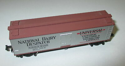 "Kadee MTL 49040  40' Wood Reefer ""National Dairy Dispatch"" NDDX 8135 > Top"