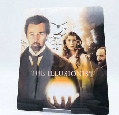 THE ILLUSIONIST - Glossy Fridge / Bluray Steelbook Magnet Cover (NOT LENTICULAR)